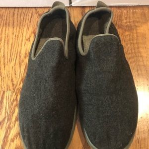 Allbirds men's wool loungers sz 11 charcoal